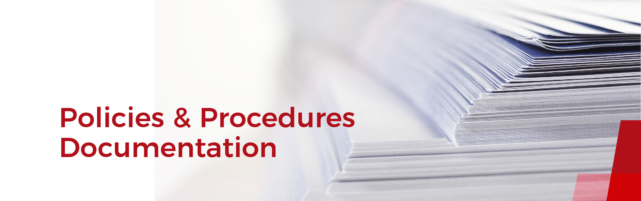 Policies procedures documentation the precise articulation of policies and procedures frames a structured workflow for a charity it also ensures consistency throughout the charity maxwellsz